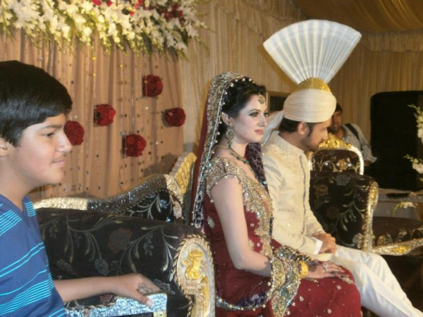 Atif Aslam and Sara Bharwana Barat Function (3)