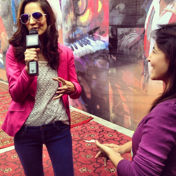 Cybil Chowdhry at Cornetto Music Icons Lahore Auditions
