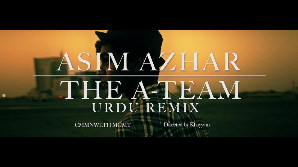 Asim Azhar The A Team Urdu Version Music Mp3 Download
