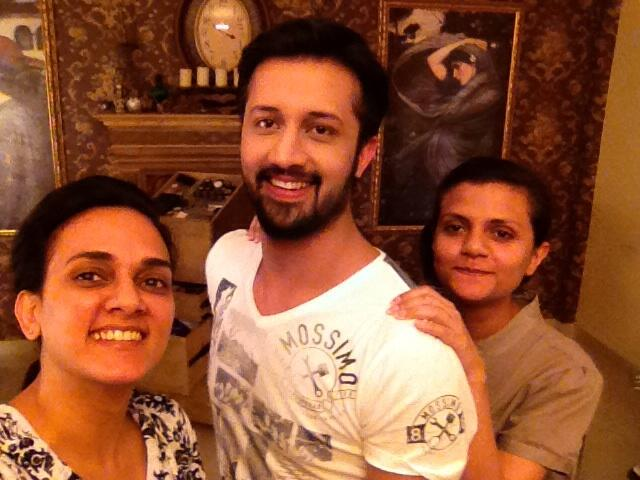 Atif Aslam mehndi Hair Style by Maram and Aabroo