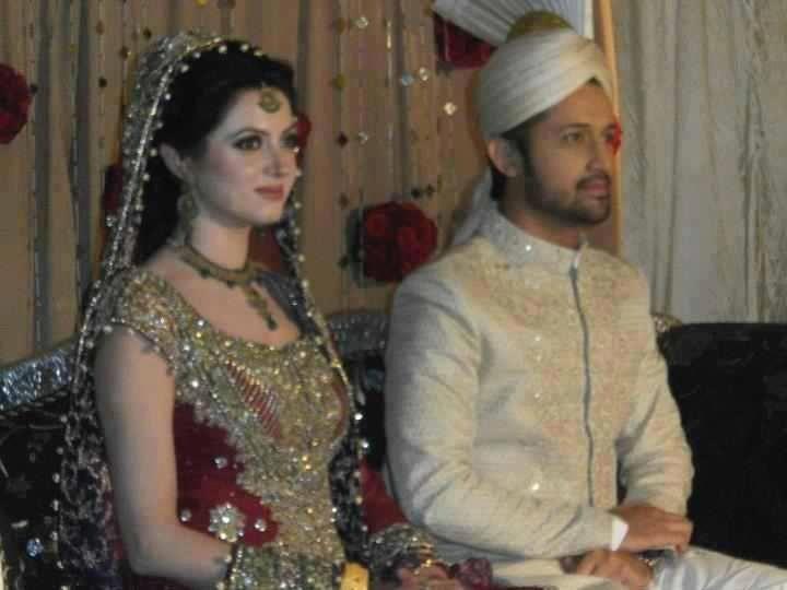 Atif ASlam SAra Bharwana Wedding Baraat Phoro