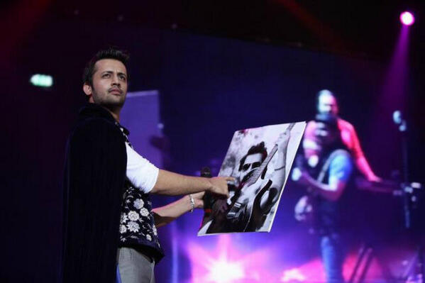 atif at o2arena 7th april
