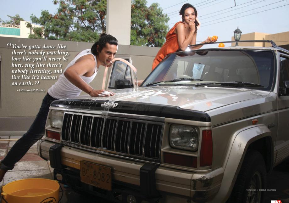 Aamina Sheikh and Mohib Mirza shoot for Glam Magazine - 4