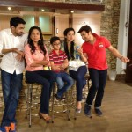 Ali Haider on the sets of Eik Aur Eik Dhai - 9
