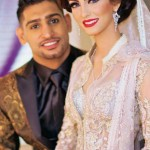 Amir Khan and Faryal Makhdoom Valima Pictures - 06