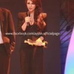 Ayyan Ali won Best Female Model award at 3rd Pakistan Media Awards (2012) - 3
