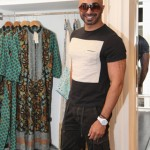 Designer-HSY-wearing-Toy Watch at Sana Safinaz Flagship Store in Lahore