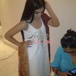 Humaima Malick at Shamsha Hashwanis Couture Shoot (BTS) - 1