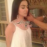Humaima Malick at Shamsha Hashwanis Couture Shoot (BTS) - 11