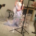 Humaima Malick at Shamsha Hashwanis Couture Shoot (BTS) - 12