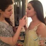Humaima Malick at Shamsha Hashwanis Couture Shoot (BTS) - 14