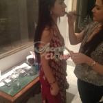 Humaima Malick at Shamsha Hashwanis Couture Shoot (BTS) - 15