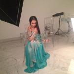 Humaima Malick at Shamsha Hashwanis Couture Shoot (BTS) - 17