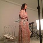 Humaima Malick at Shamsha Hashwanis Couture Shoot (BTS) - 18