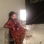 Humaima Malick at Shamsha Hashwanis Couture Shoot (BTS) - 2