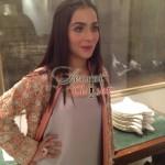 Humaima Malick at Shamsha Hashwanis Couture Shoot (BTS) - 3