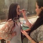 Humaima Malick at Shamsha Hashwanis Couture Shoot (BTS) - 4