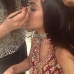 Humaima Malick at Shamsha Hashwanis Couture Shoot (BTS) - 5