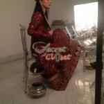 Humaima Malick at Shamsha Hashwanis Couture Shoot (BTS) - 6