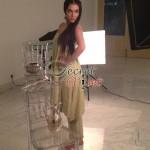 Humaima Malick at Shamsha Hashwanis Couture Shoot (BTS) - 7