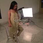 Humaima Malick at Shamsha Hashwanis Couture Shoot (BTS) - 8