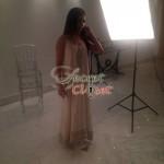 Humaima Malick at Shamsha Hashwanis Couture Shoot (BTS) - 9
