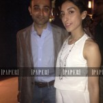 Mohsin Hamid and Zahra Khan at The Reluctant Fundamentalist Red Carpet