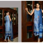 Sanam Saeed Wardha Eid Lawn Collection - 12