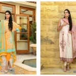 Sanam Saeed Wardha Eid Lawn Collection - 13
