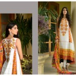 Sanam Saeed Wardha Eid Lawn Collection - 15