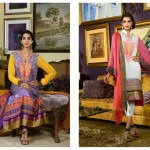 Sanam Saeed Wardha Eid Lawn Collection - 17