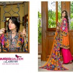 Sanam Saeed Wardha Eid Lawn Collection - 4