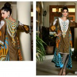 Sanam Saeed Wardha Eid Lawn Collection - 6