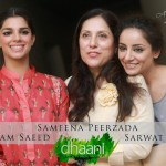 Sanam Saeed and Sarwat Gillani at Dhaani - 2