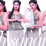 Sanam Saeed in paper magazine