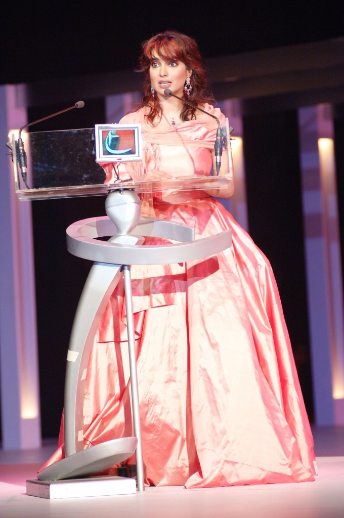 Aaminah Haq hosting LSA 2005