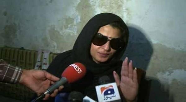 laila-arrested in Multan