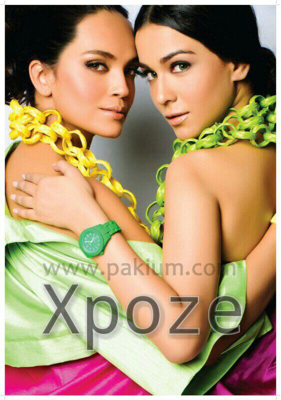 Sexiest girls of Pakistan Aamina Sheikh and Humaima Malik