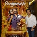 Shiraz Uppal at Raanjhanaa success party in Mumbai - 16