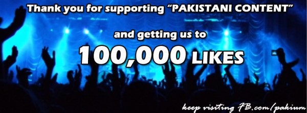 100,000 fans on facebook page
