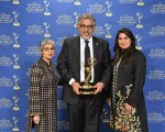 Sabiha Sumar, Dr. Mohammad Jawad and Sharmeen Obaid-Chinoy winner of 'Saving Face' for BEST DOCUMENTARY, HBO Documentary Films on HBO Photography by Marc Bryan-Brown