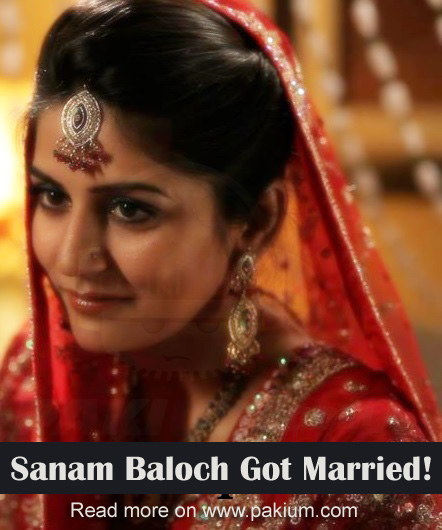 Sanam Baloch Married Husband Name