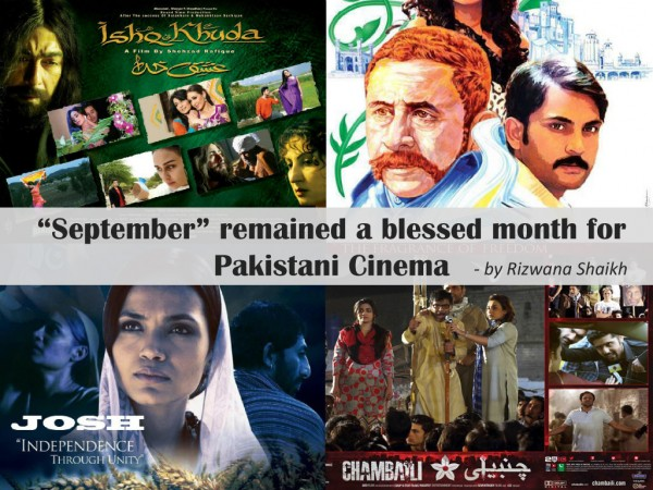 September remained a blessed month for Pakistani Cinema