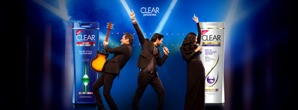 Strings-and-Zoe-Viccaji-jeena-hai-sar-utha-ke-clear-shampoo-advertisement