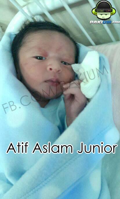 atif aslam baby boy
