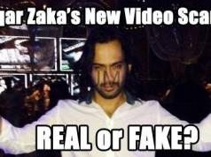 waqar zaka's new abusive video scandal