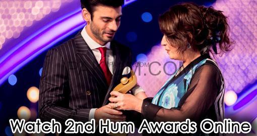 watch 2nd hum awards online