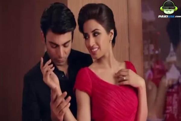 Fawad-Khan-romancing-Iman-Ali-lux-tvc1