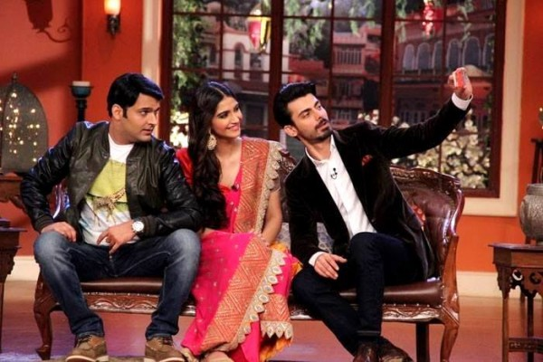 Fawad Khan, Sonam Kapoor and Kapil Sharma