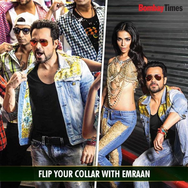 Humaima Flip your collar with Emraan